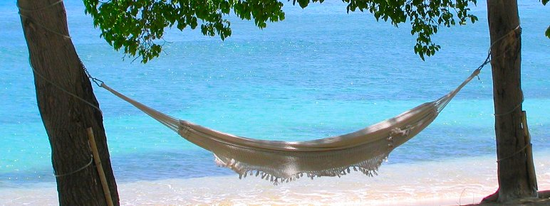 Relaxing in Barbados