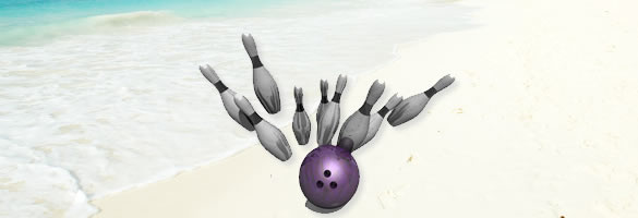 go bowling in Barbados!