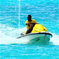 Jetskiing in Barbados