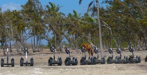 Barbados segways