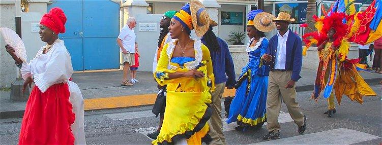 Barbados Holetown Festival Street Parade