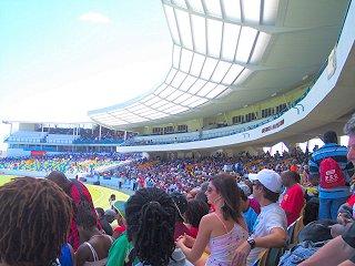 Cricket in Barbados!