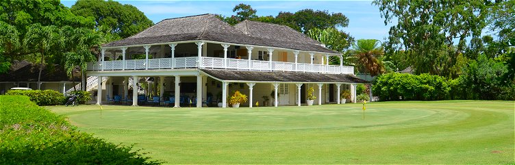 Sandy Lane Old Nine clubhouse, Barbados