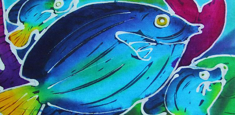 Barbados Batik Art In Paradise