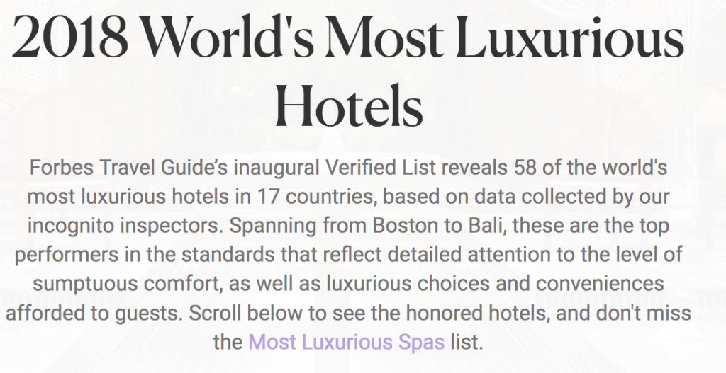 worlds most luxurious hotels