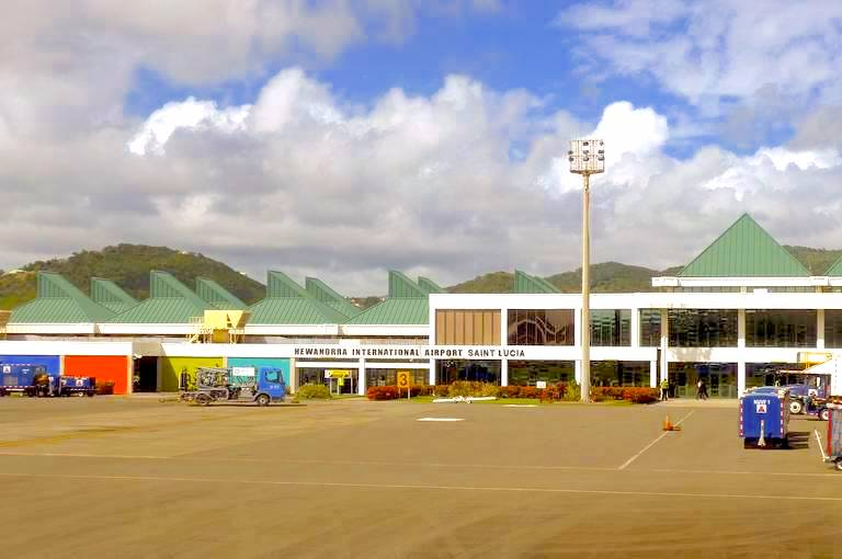stlucia reopns and Hewanorra International Airport  june4