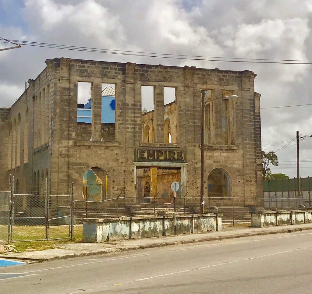 Empire cinema to become dramatic arts theater - Just across for the Barbados Hyatt Ziva Hotel