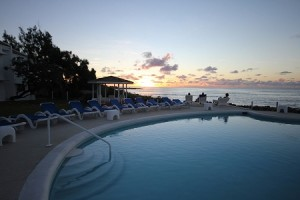 Sunset at Peach and Quiet Hotel, Barbados