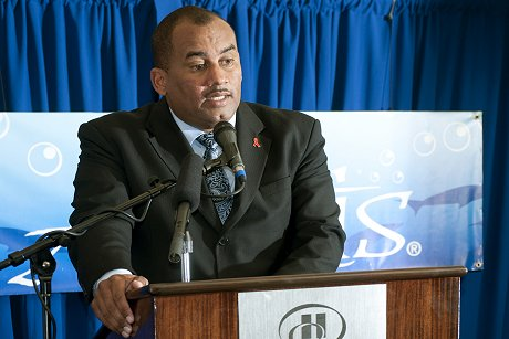 Minister of Tourism Honorable Richard Sealy