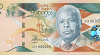 New Barbados bank notes
