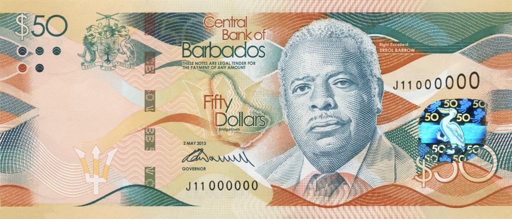 New Barbados Bank Notes Barbados Org Blogbarbados Org Blog