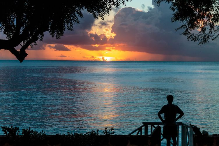 Another amazing Barbados sunset