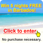 Win 5 nights FREE in Barbados!