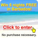 Win 5 nights FREE in Barbados!