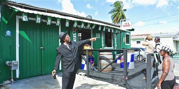 Beck's rum shop