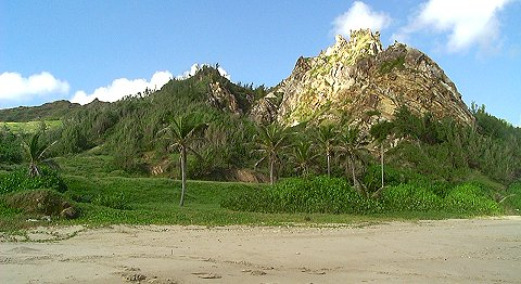 Hills overlooking Cattlewash, Barbados