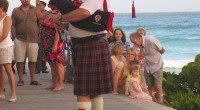 Scenes from the Barbados Celtic festival