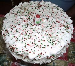 Christmas great cake