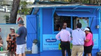 First Time At Cuz's Fish Stand, Barbados