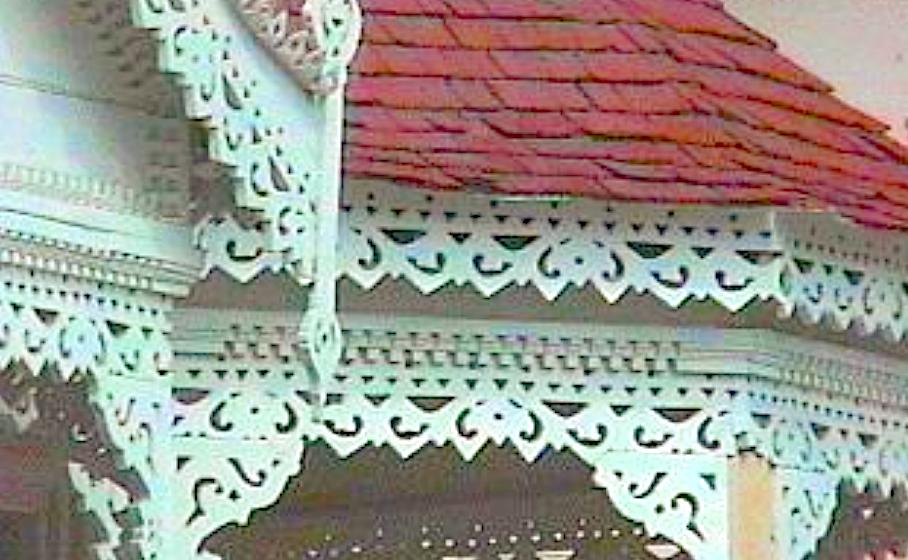 Barbados chattel houses fretwork