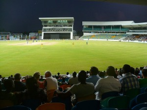 View from 3Ws stand at Kensington Oval, Barbados
