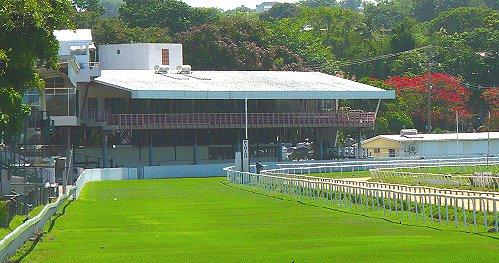 Grand Stand at the Garrison Savannah