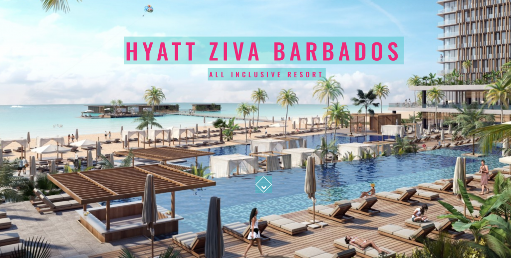 Barbados Hyatt Ziva Hotel - World class high rise all inclusive resort and condos