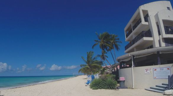 Hotel on Dover Beach, Barbados