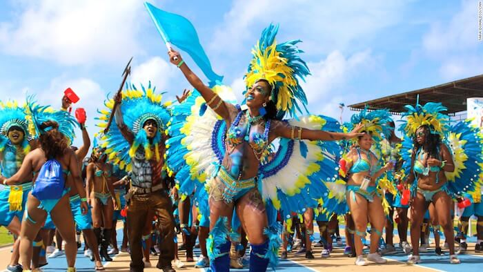 Kadooment in Barbados