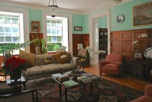 St. Nicolas Abbey Living room