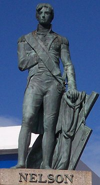 Statue of Lord Nelson in Bridgetown, Barbados