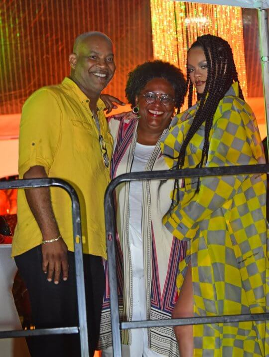 Barbados' Prime Minister Mia Mottley is to be honoured at Rihanna's Diamond Ball