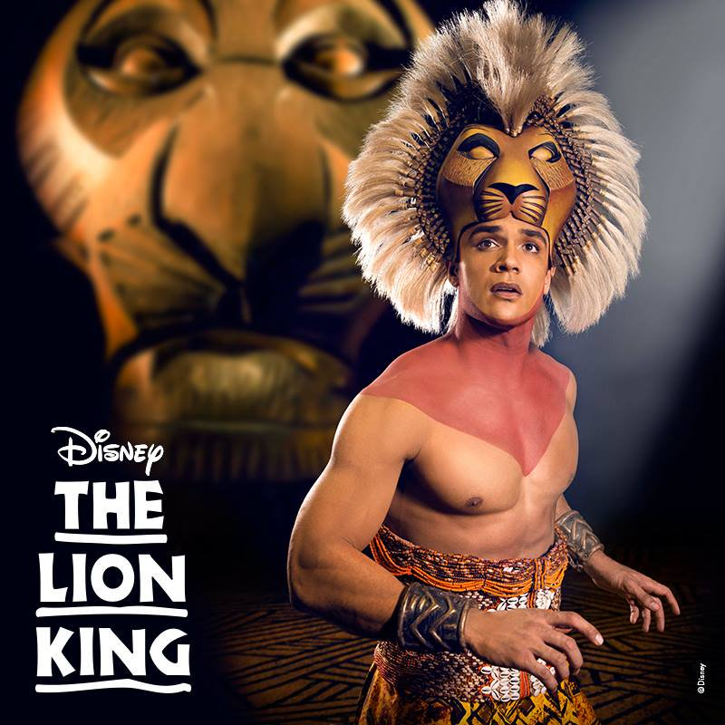 Barbados entertainer Du-Wayne Niles understudying Nick Afoa as Simba in the Walt Disney Broadway production of the Lion King.