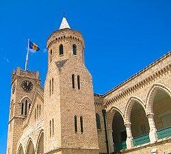 Bridgetown Parliament - 3rd oldest in the Western hemisphere