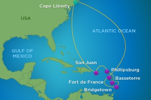Barbados On Cruise Itinerary For Royal Caribbean S Quantum