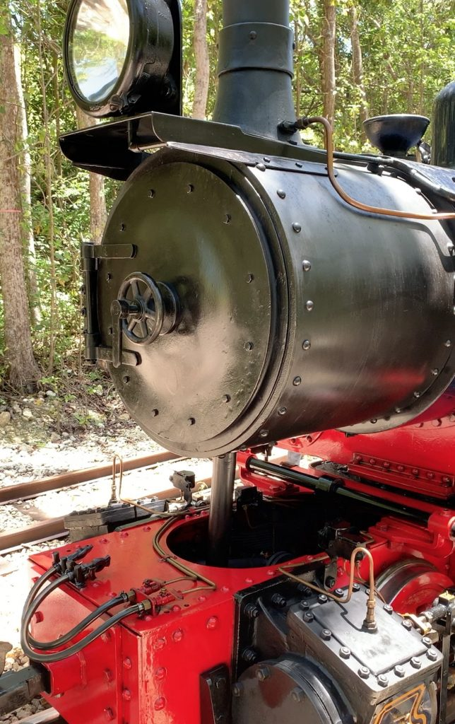 Heritage Train is a real vintage engine that is restored and as the original. See New Video of Barbados Historic Railway