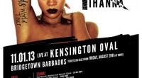 Rihanna to perform in Barbados in November