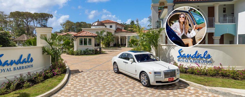 Sandals Royal Barbados VIP Service