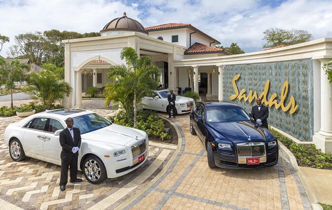 New VIP Service at Sandals Royal Barbados