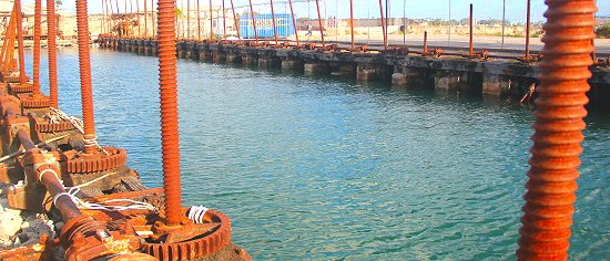 The Screw Dock in Bridgetown