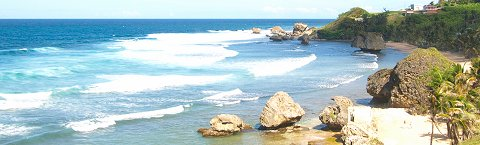 Bathsheba... surf capital of Barbados!
