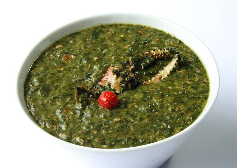 Local Products - Calalloo Soup