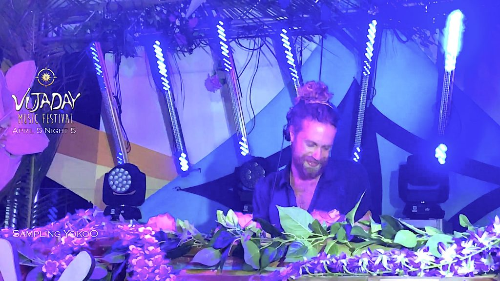 YokoO Amsterdam House Music live at Vujaday 2019 Barbados