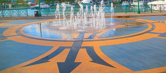Broken Trident Fountain