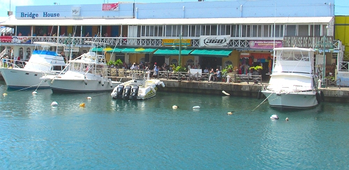 Waterfront in Bridgetown, Barbados