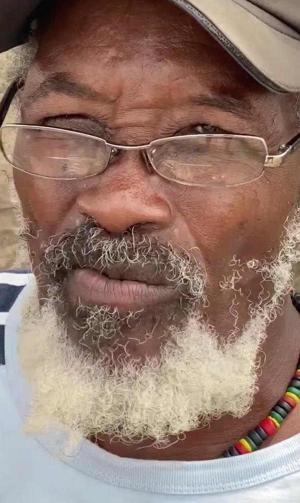 The artist - Woolly Hewitt Barbados Folk Art Icon