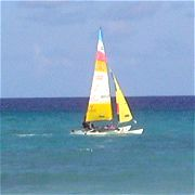 Caribbean vacation - catamaran cruise