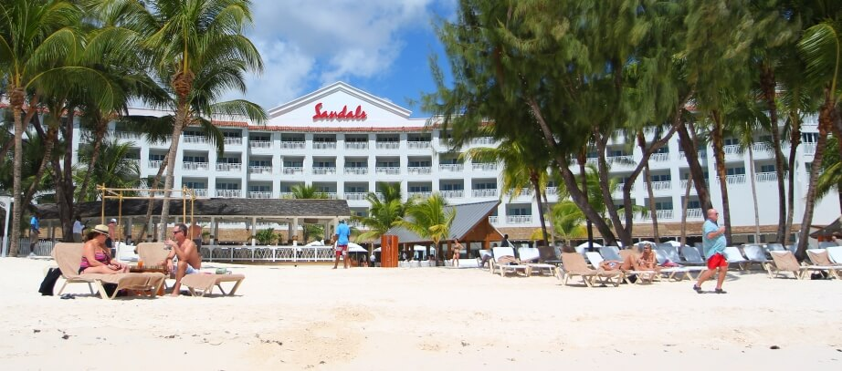 Barbados beach accommodation