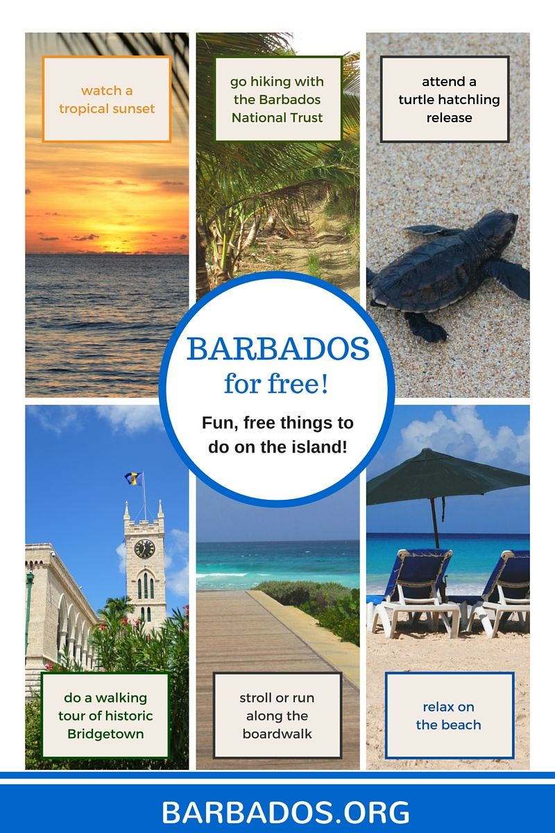 Fun, free activities in Barbados