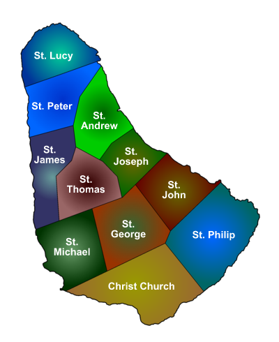 Barbados parishes
